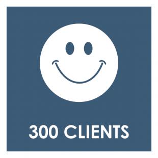 300 Clients
